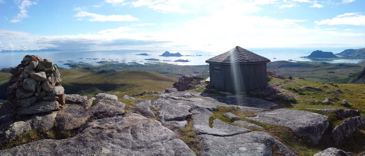 Utsikten er best fra toppen :-)